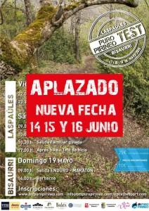 cartel puro pirineo test aplazado 2019